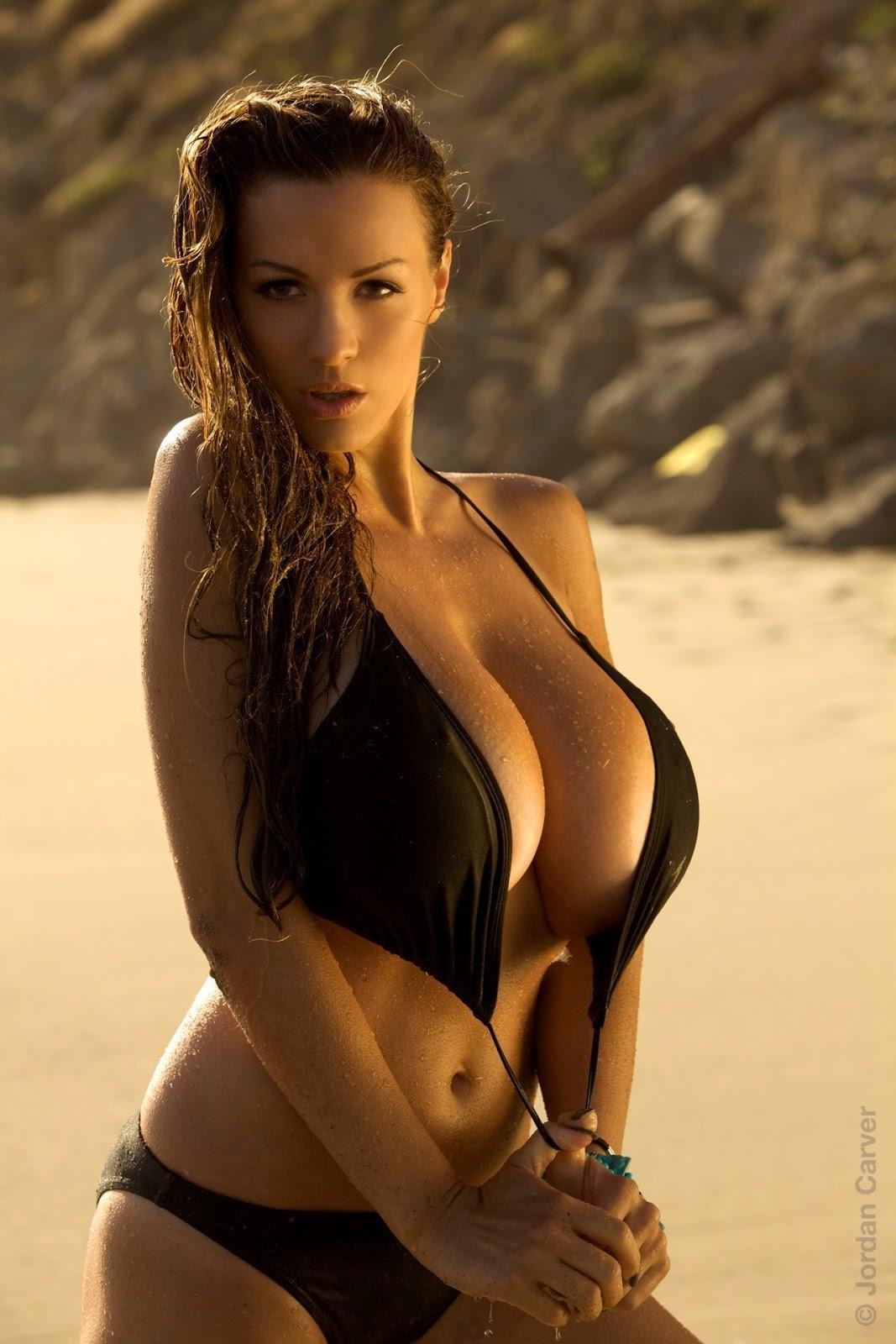 Jordan Carver Surf & Turf Hot Photoshoot HD Images | Damn Sexy