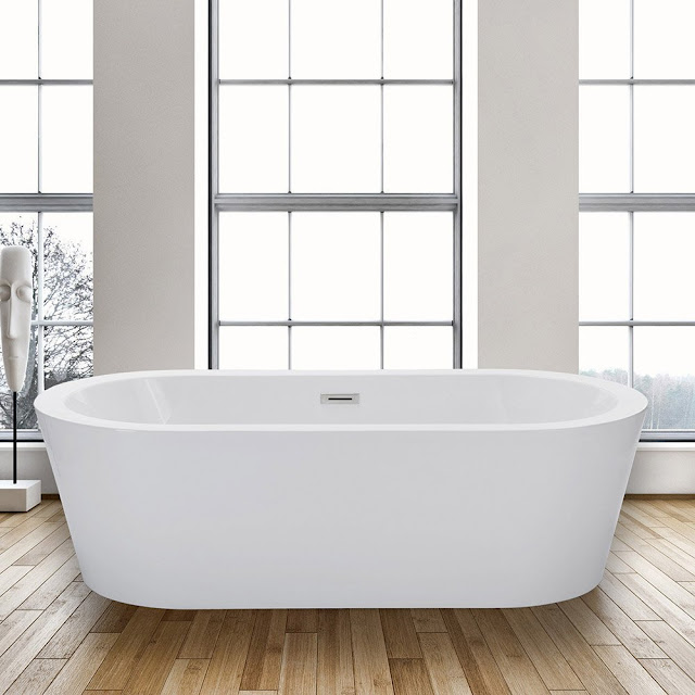 Freestanding Tubs with Deck Mount Faucets : Find.Like.Buy.