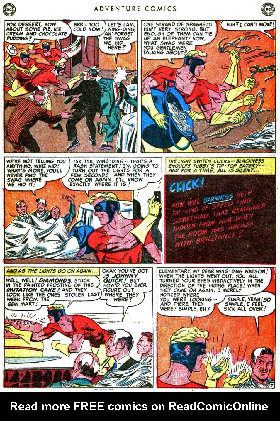 Read online Adventure Comics (1938) comic -  Issue #160 - 31