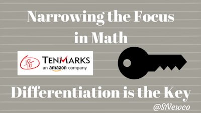 Narrowing the Focus in Math: Differentiation is The Key
