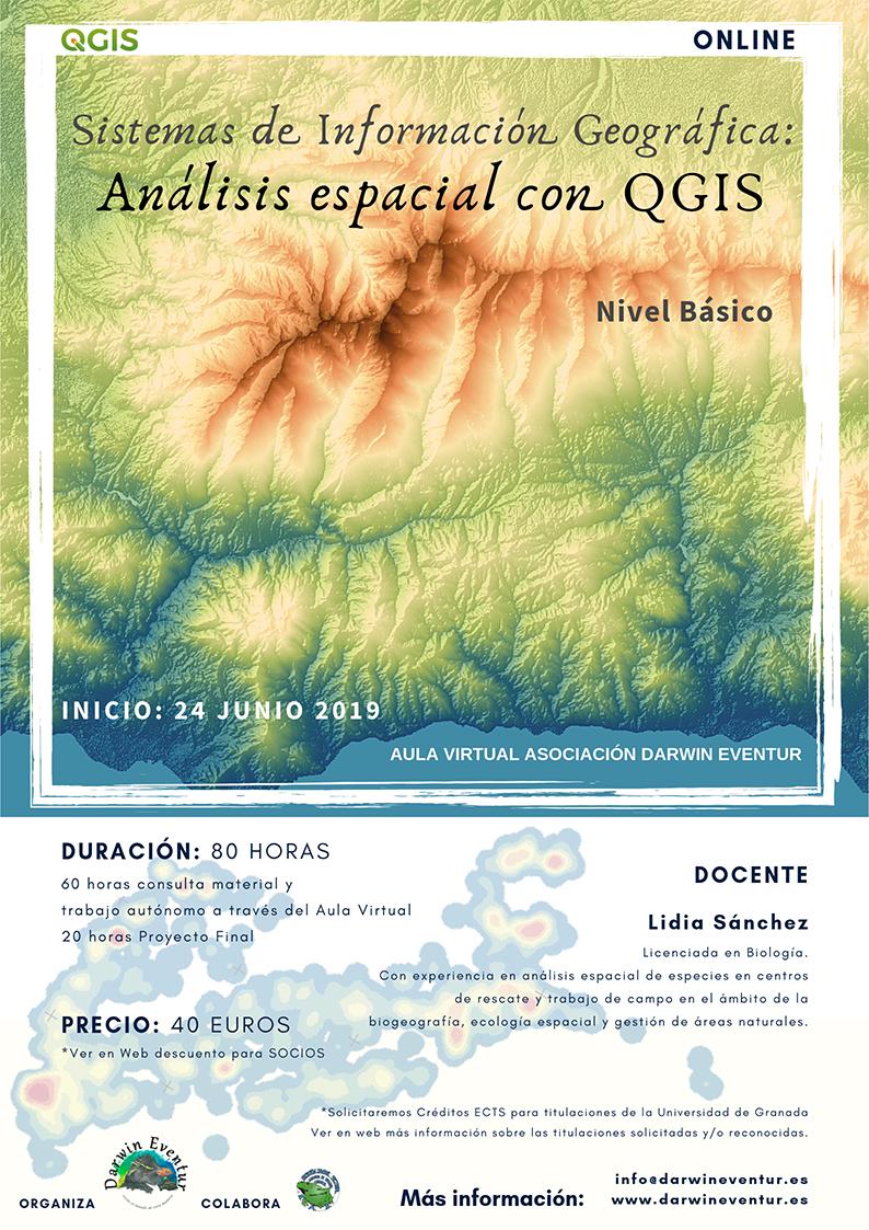 Asociación Darwin Eventur: Sistemas de Información Geográfica