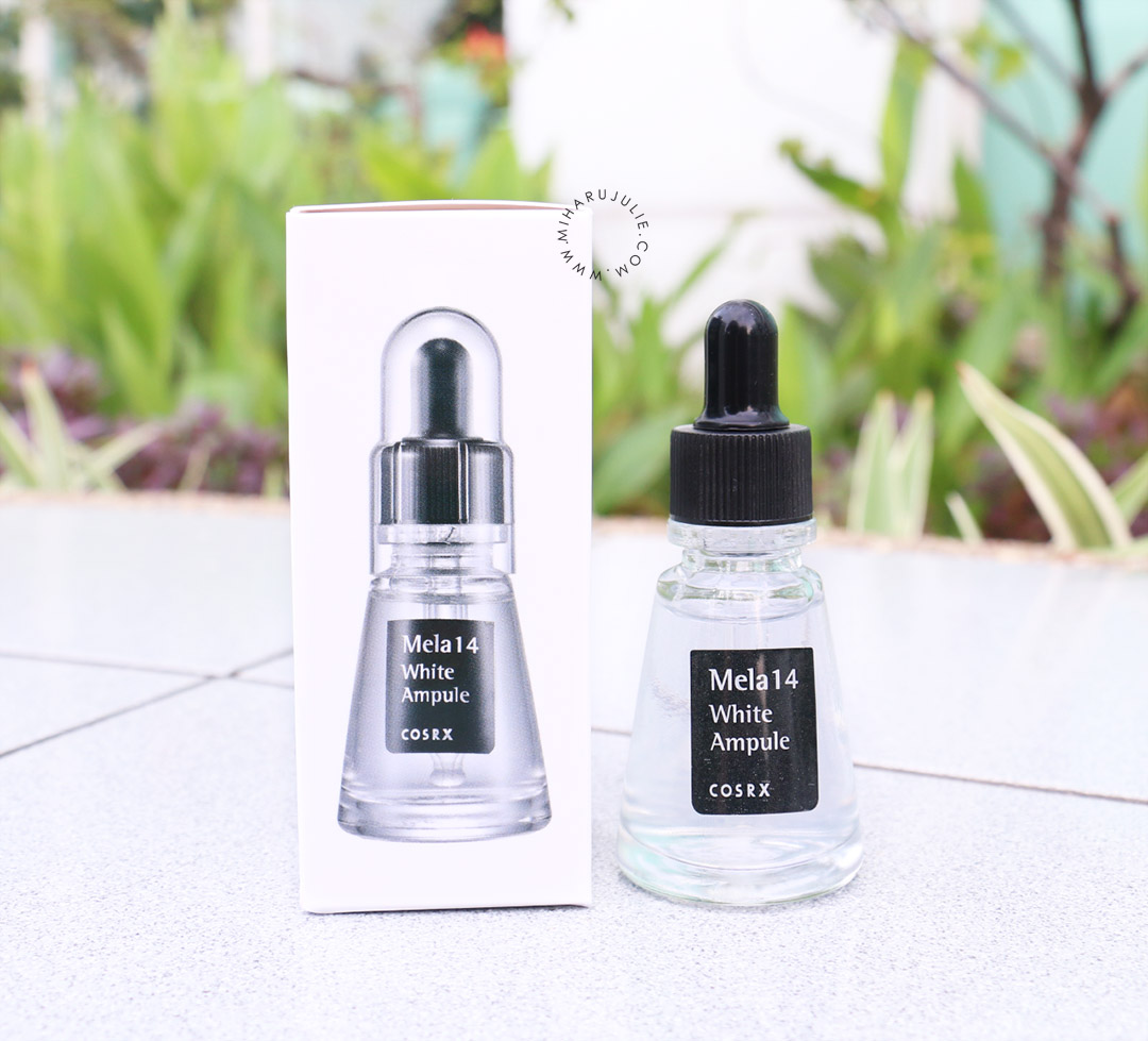 Senka White Beauty Lotion Ii Review: COSRX Mela 14 White Ampule Review Indonesia Beauty And
