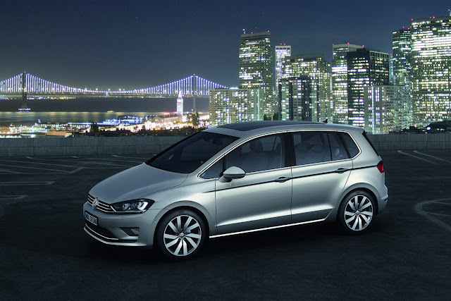 2016 Volkswagen Golf Hybrid next generation plan  front top view