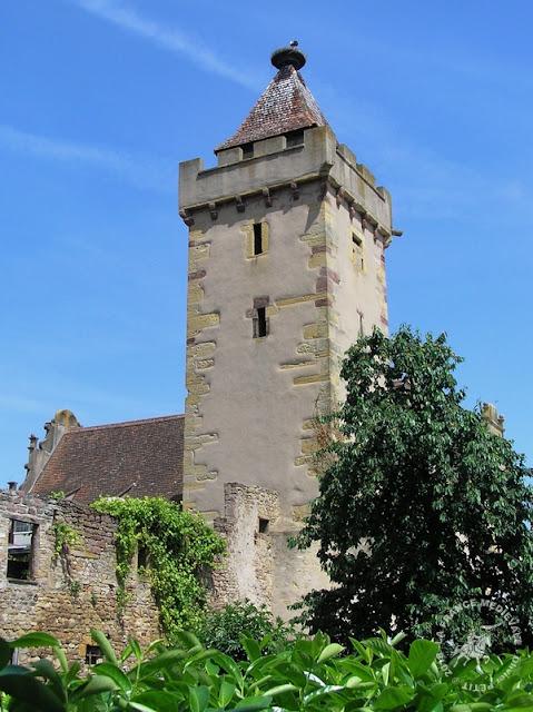 ROUFFACH (68) - Tours des Sorcières et remparts (XIIIe-XVe siècle)