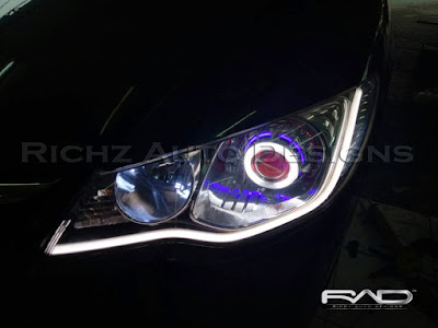 headlamp custom honda civic fd1