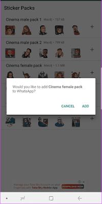 Cara Downlopad Aplikasi Untuk Stiker WhatsApp di Android11