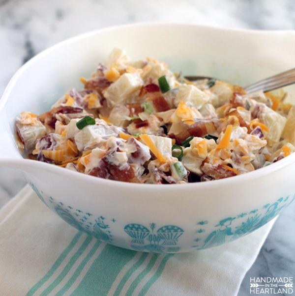 Loaded Baked Potato Salad Recipe