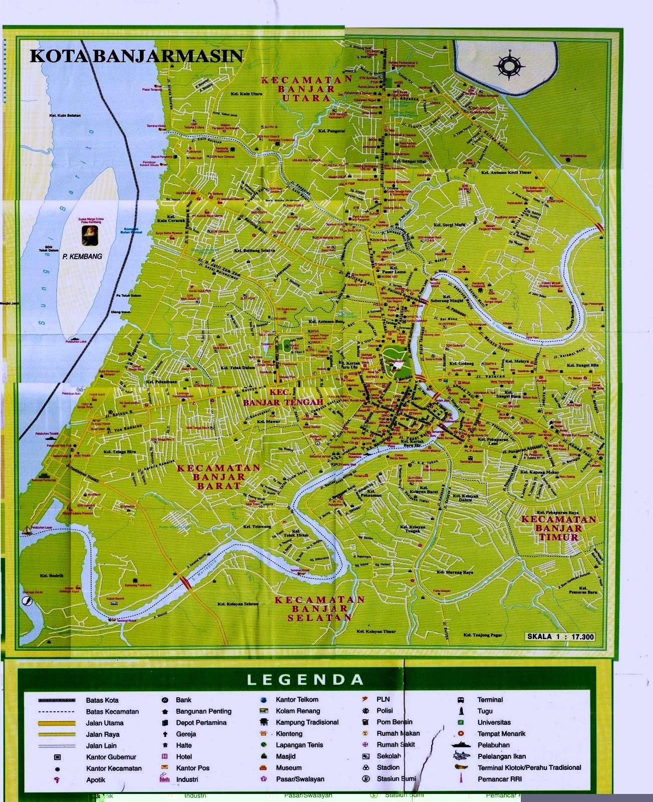 Gold-oriole: Daftar Nama Kecamatan Kelurahan/Desa ...