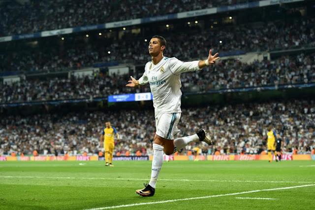 Liga Champion : Real Madrid 3 - 0 APOEL, Ronaldo Cetak 2 Gol