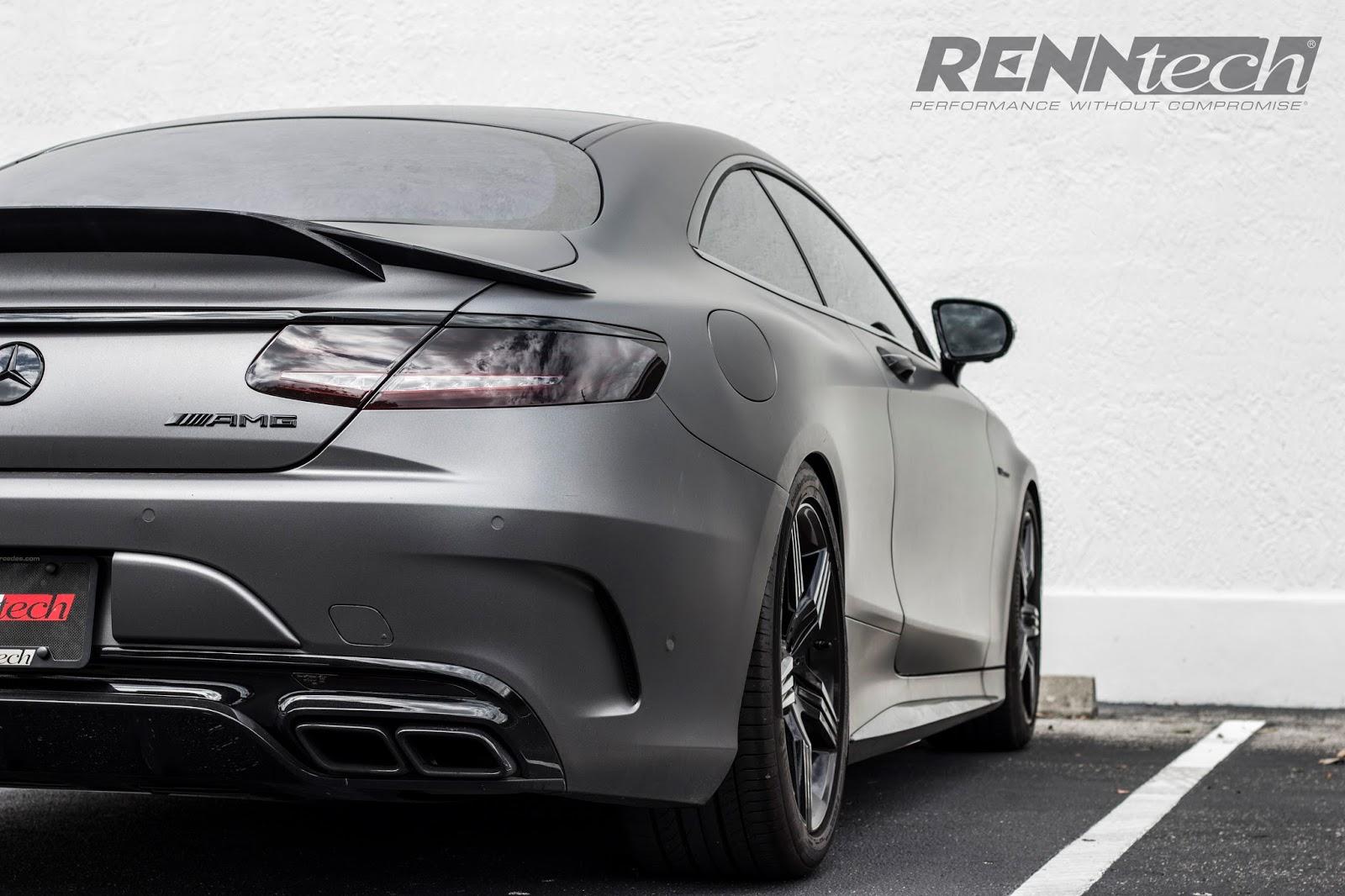 Mercedes Benz C217 S63 AMG Coupe By RENNtech BENZTUNING