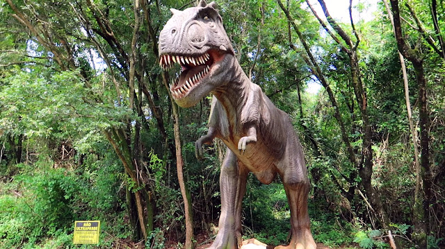 dinossauros parque rocha moutonnée