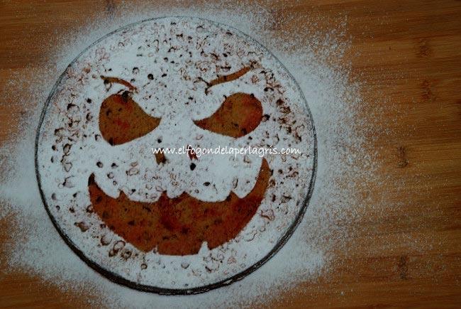 Bizcocho de Halloween
