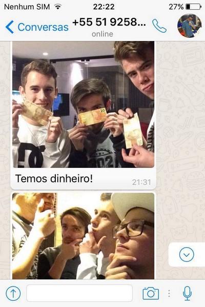 Pedindo uma pizza de maneira épico pelo Whatsapp