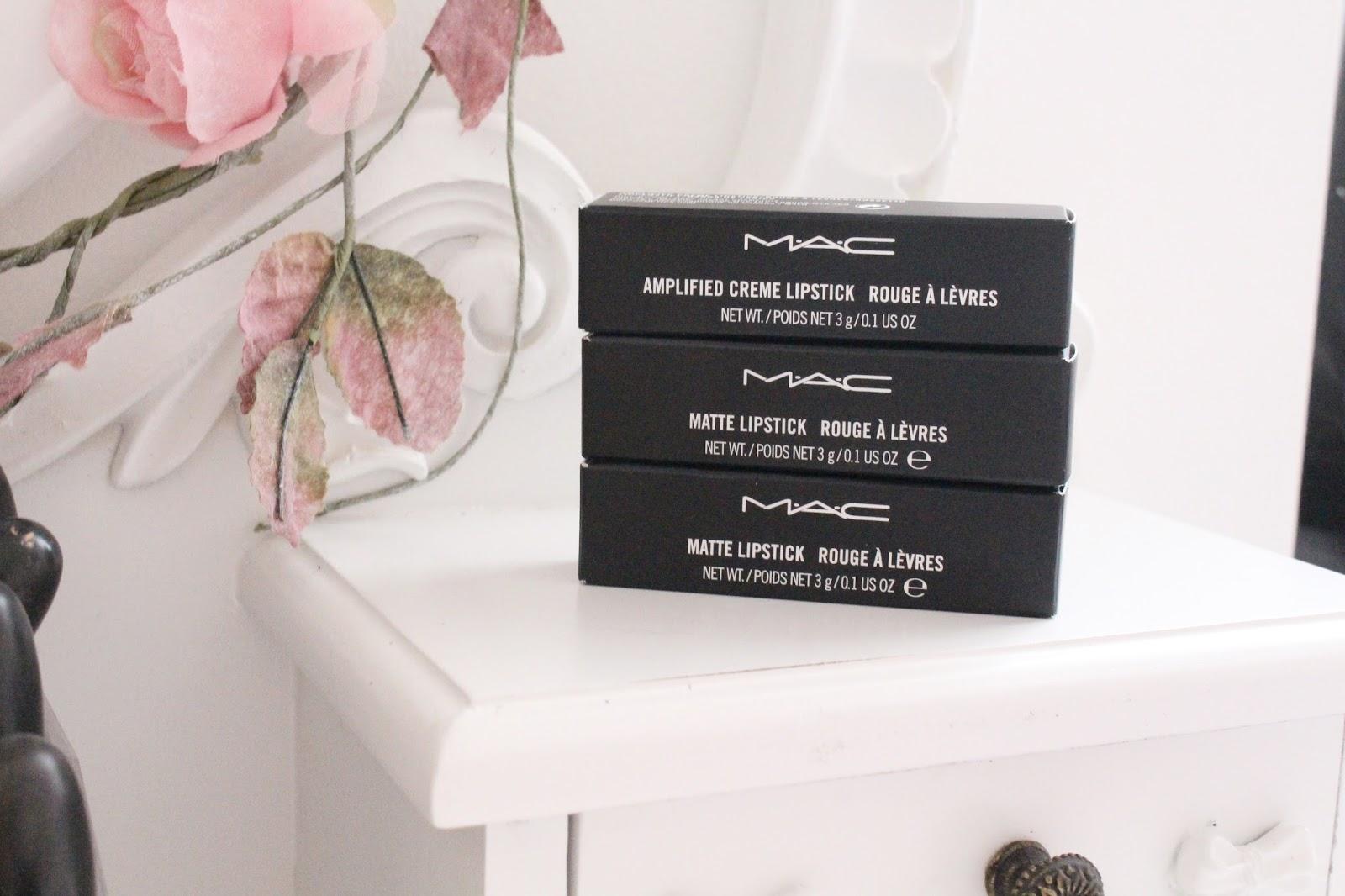 MAC Cosmetics Lipsticks