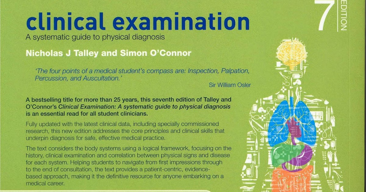 Clinical Examination A Systematic Guide To Physical Diagnosis Pdf