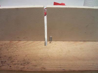 M4 Senkkopfschraube Brettchen