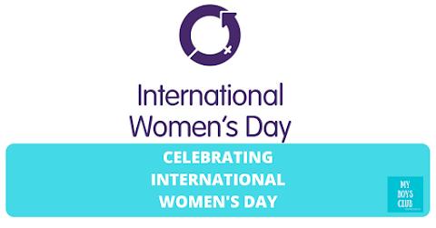 Celebrating International Women's Day on My Boys Club