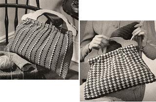 Vintage Crochet Utility Bags Pattern