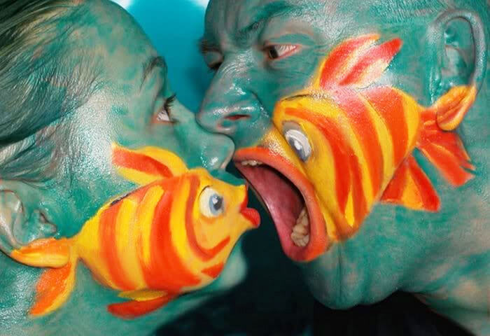 35 Mindblowing Body Art That Will Make Us Look Twice