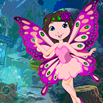 Games4King Butterfly Angel Escape