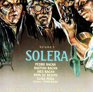 """BASTIÁN BACÁN PARTICIPÓ EN ALGUNAS DE LAS PRODUCIONES DE SU HIJO PEDRO BACÁN""""Noche Gitanas en Lebrija"""" vol.3  -Solera"""