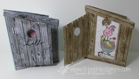Chicken Coop, Hey, Chick Sale a bration Stampin Up!