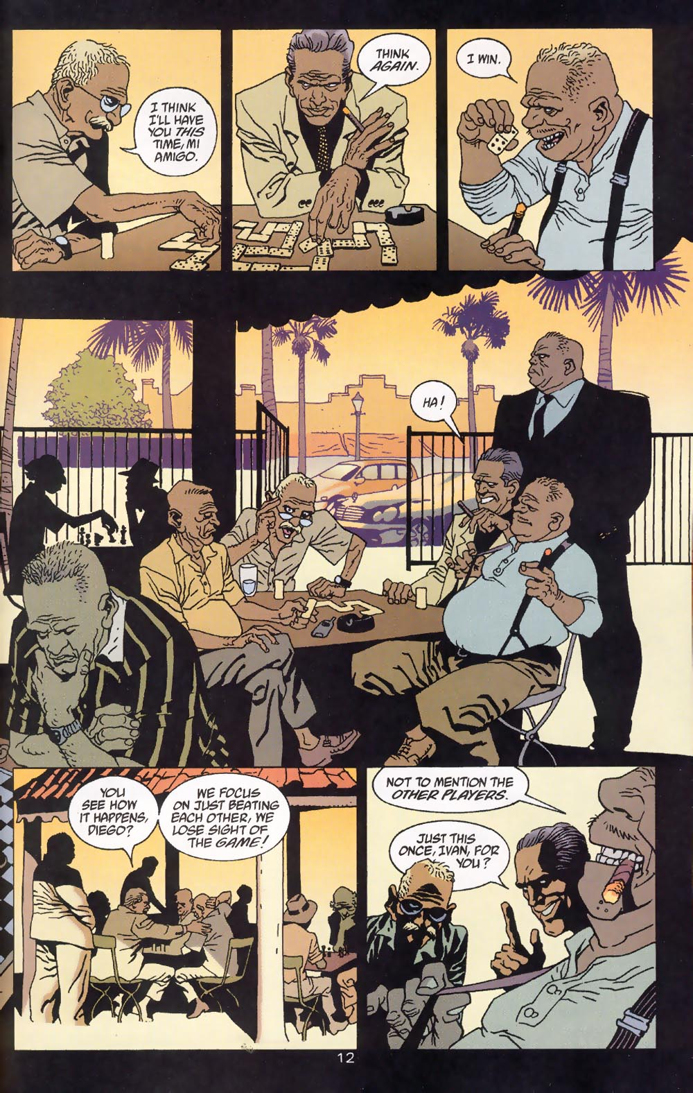 Read online 100 Bullets comic -  Issue #39 - 14