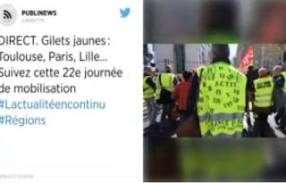 Gilets jaunes: Toulouse, Paris, Lille… Suivez cette 22e journée de mobilisation