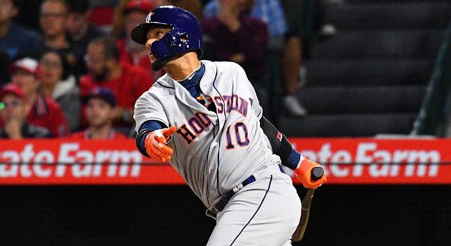 El Yuli bateó de 4-2, con una anotada, extendiendo a 5 su fila de partidos con hits (8 imparables en ese lapso), mejorando a 317 su promedio en mayo
