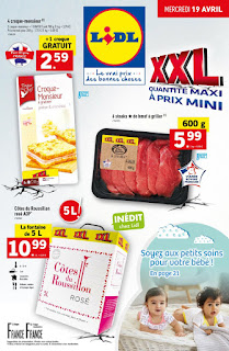 Catalogue Lidl 19 au 25 Avril 2017