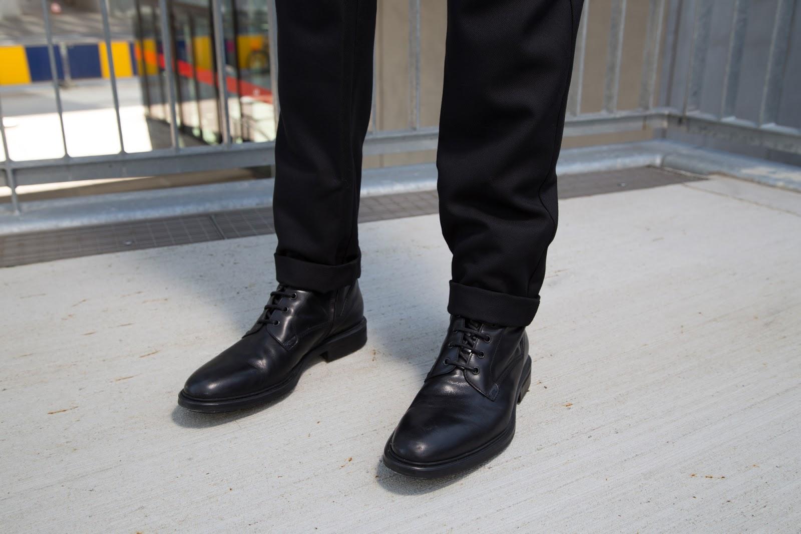 Introducing you Balmain x H&M men's collection + street style guide for Balmain x H&M men's collection written by jonthegold / photography by HOYmedia ( antwerp ) wearing HUGO by hugo boss shoes