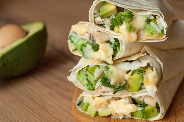 Healthy Chicken Burrito Wraps Recipe