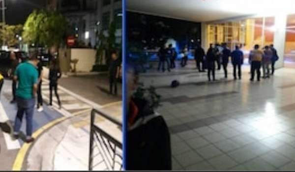 Tiga Cedera Terkena Letupan Hadapan Gereja Di Petaling Jaya,