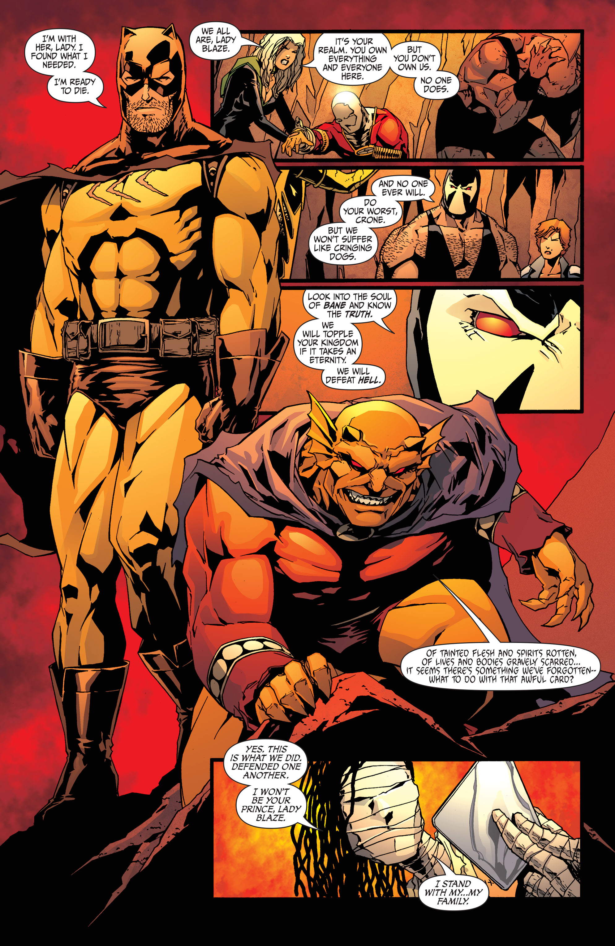 Read online Secret Six (2008) comic -  Issue #33 - 19