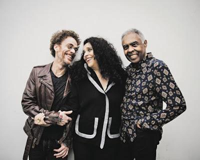 Nando Reis, Gal Costa et Gilberto Gil