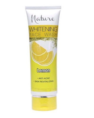 Nature Lemon Whitening Facewash 100g