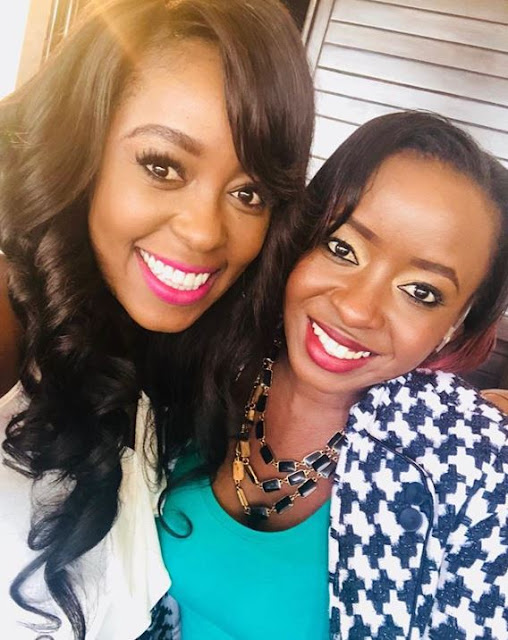 Lillian Muli Whispered Something to Jacque Maribe...But What?