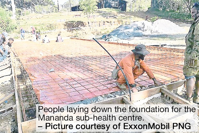 ExxonMobil invests K2.3m to rebuild health centres in Papua New Guinea