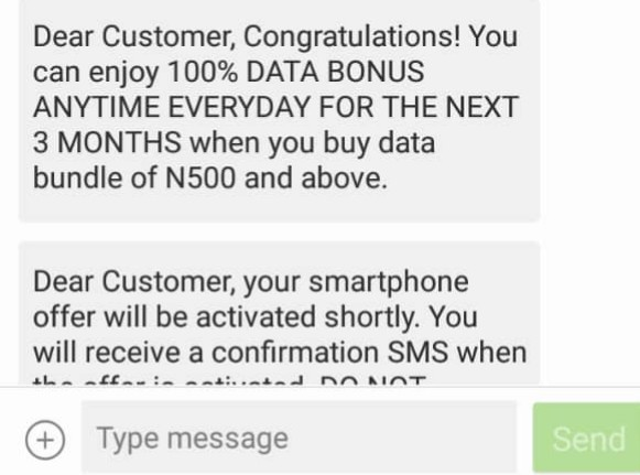 Airtel Users With 4G Sim Can Now Enjoy 100℅ Double Data for 3Months