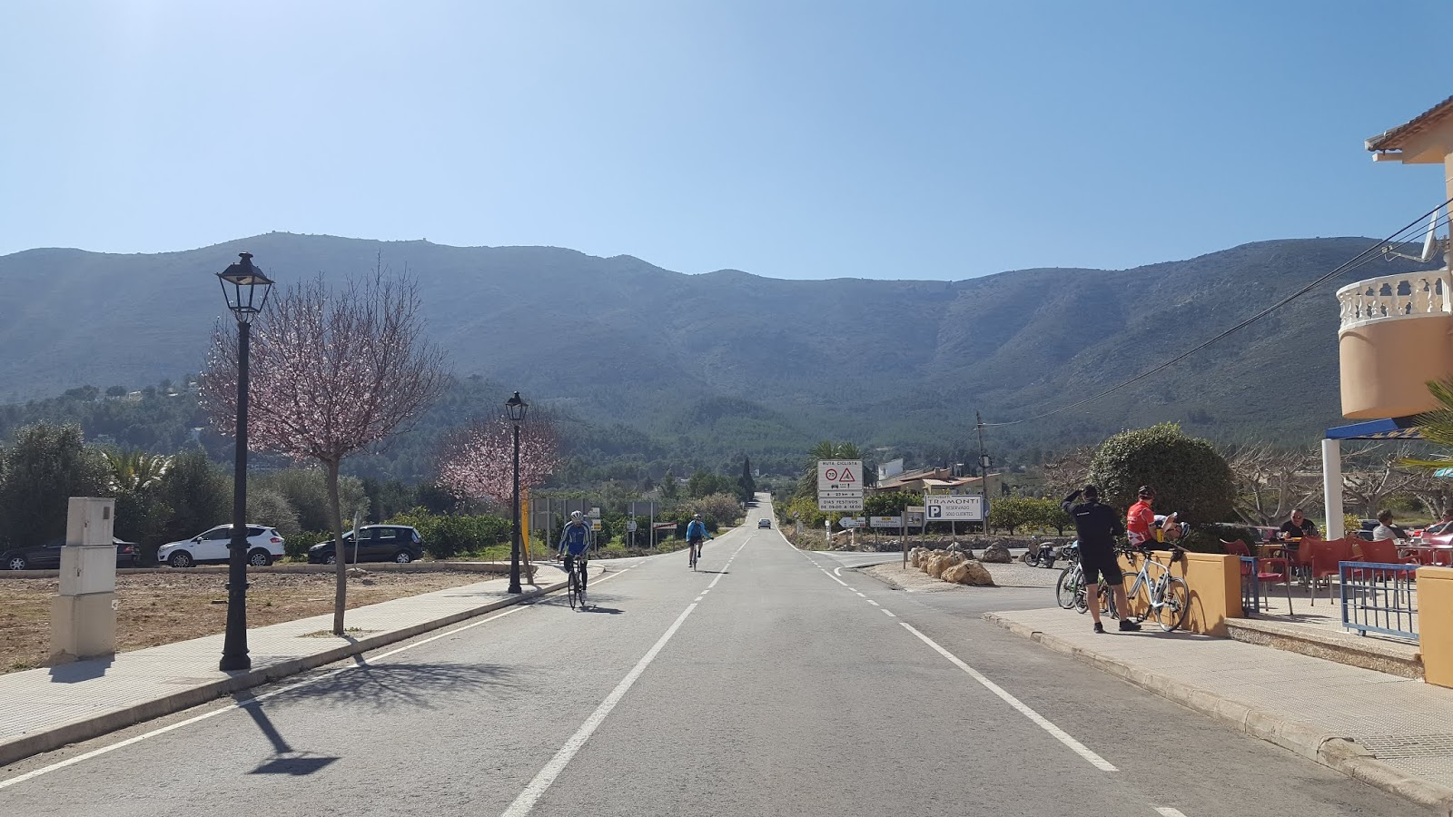 Coll de Rates from Parcent
