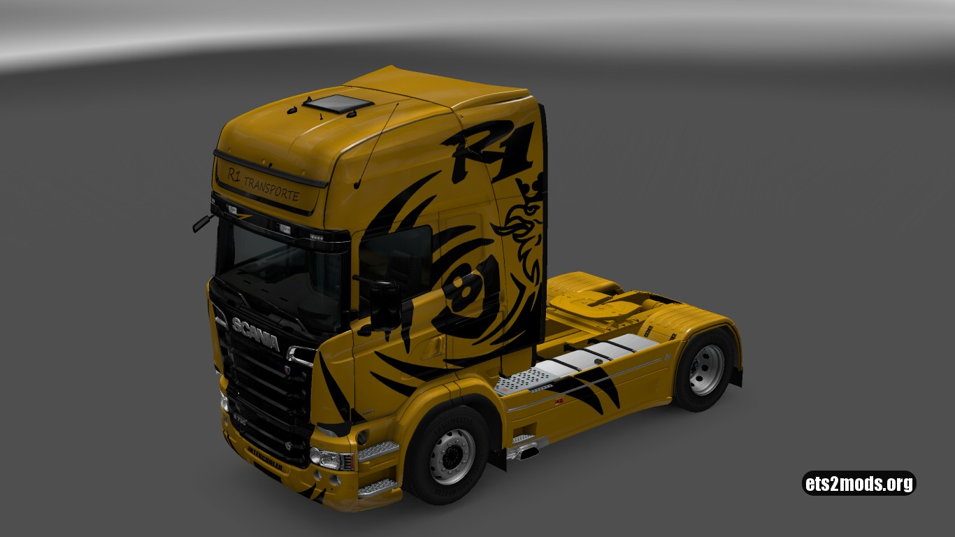 Scania RJL R1 Transporte Skin