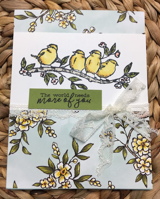 Stampin' Up!, www.stampingwithsusan.com, Bird Ballad Suite, Free as a Bird, 2019-2020 Annual Catalog