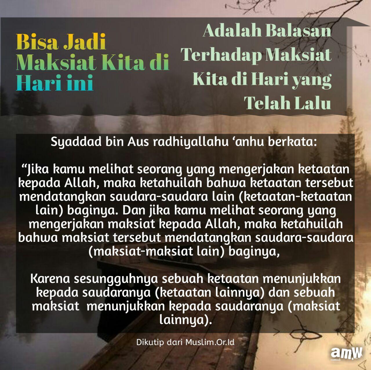 Ketika Kepercayaan 2: RUMAH BELANJA MUSLIM: Ketika Hati Condong Kepada Maksiat