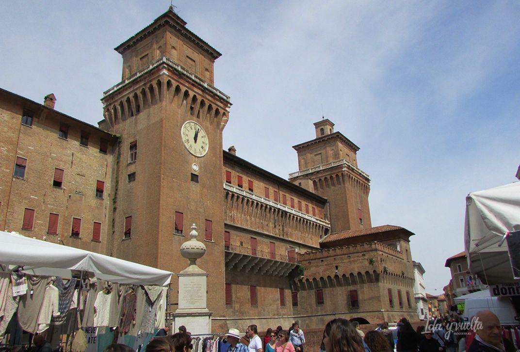 Castillo Estense Exterior