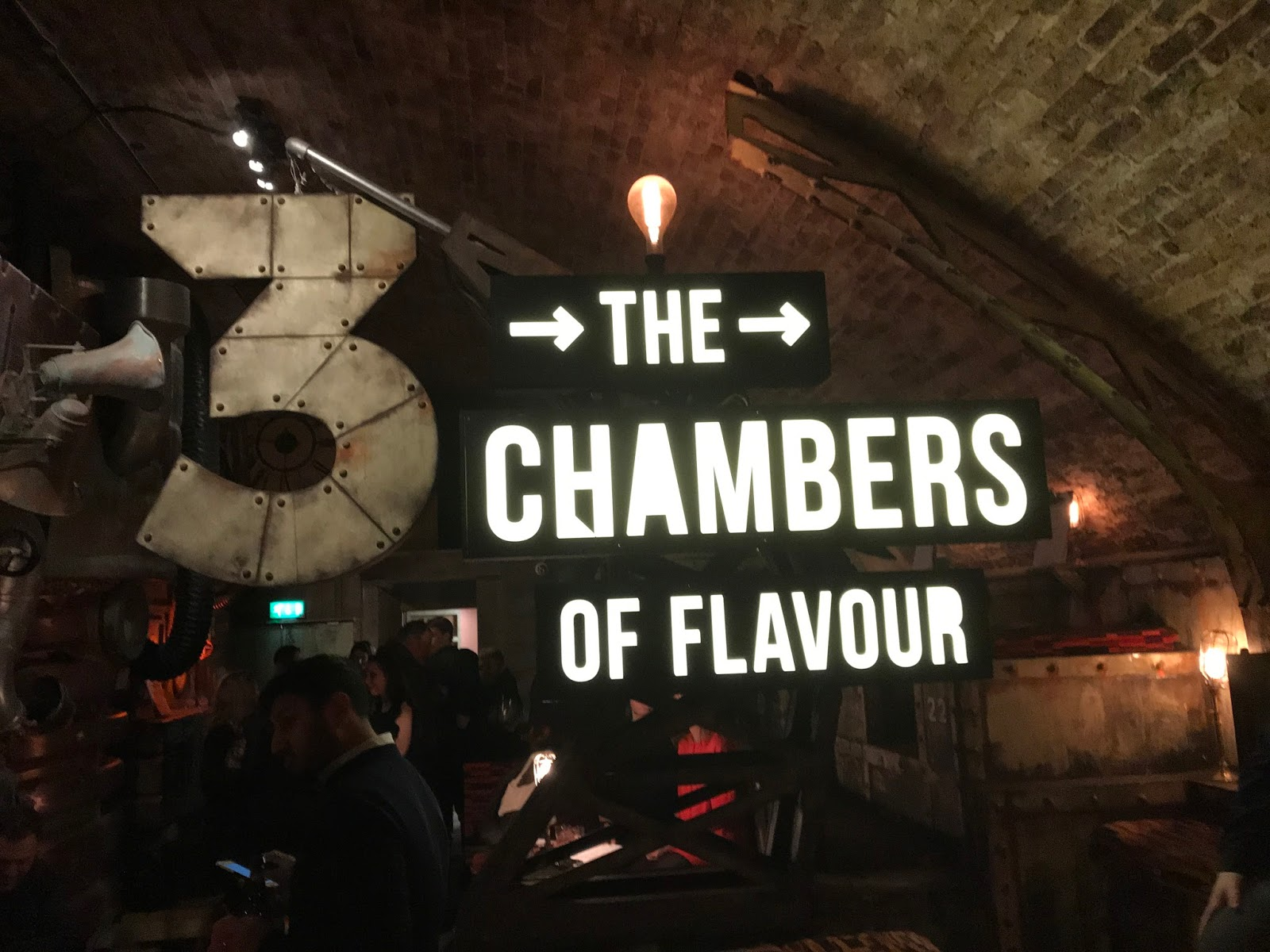 Overyourhead for Chamber of flavours