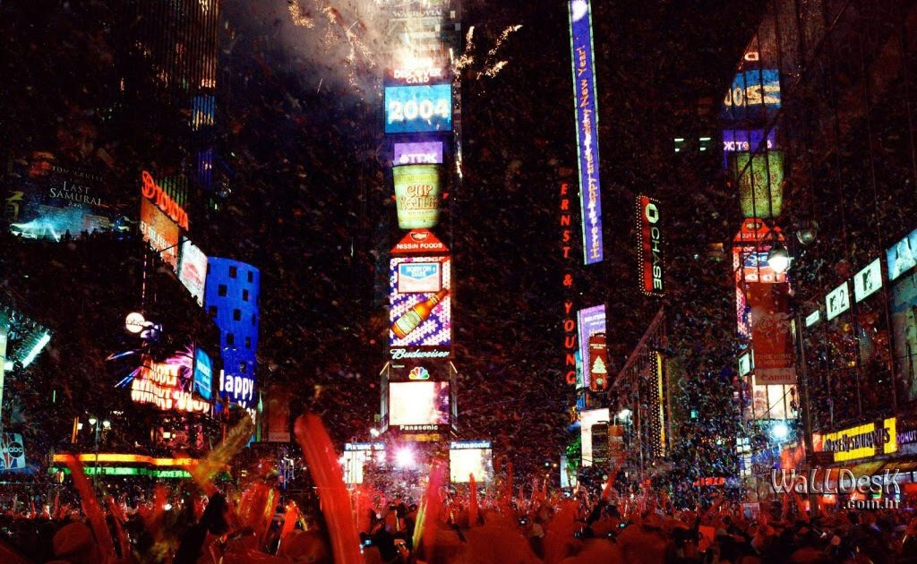 Times Square, New Year Celebration, New York City