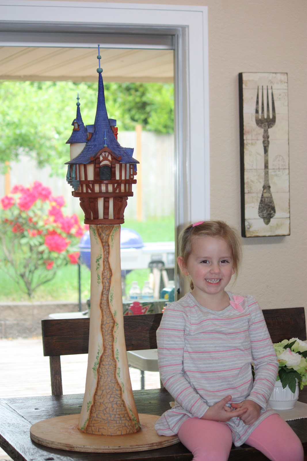 Whimsical By Design The Best Rapunzel Tower Cake