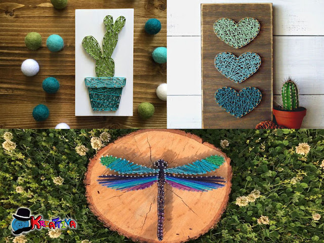 diy string art project - idee creative