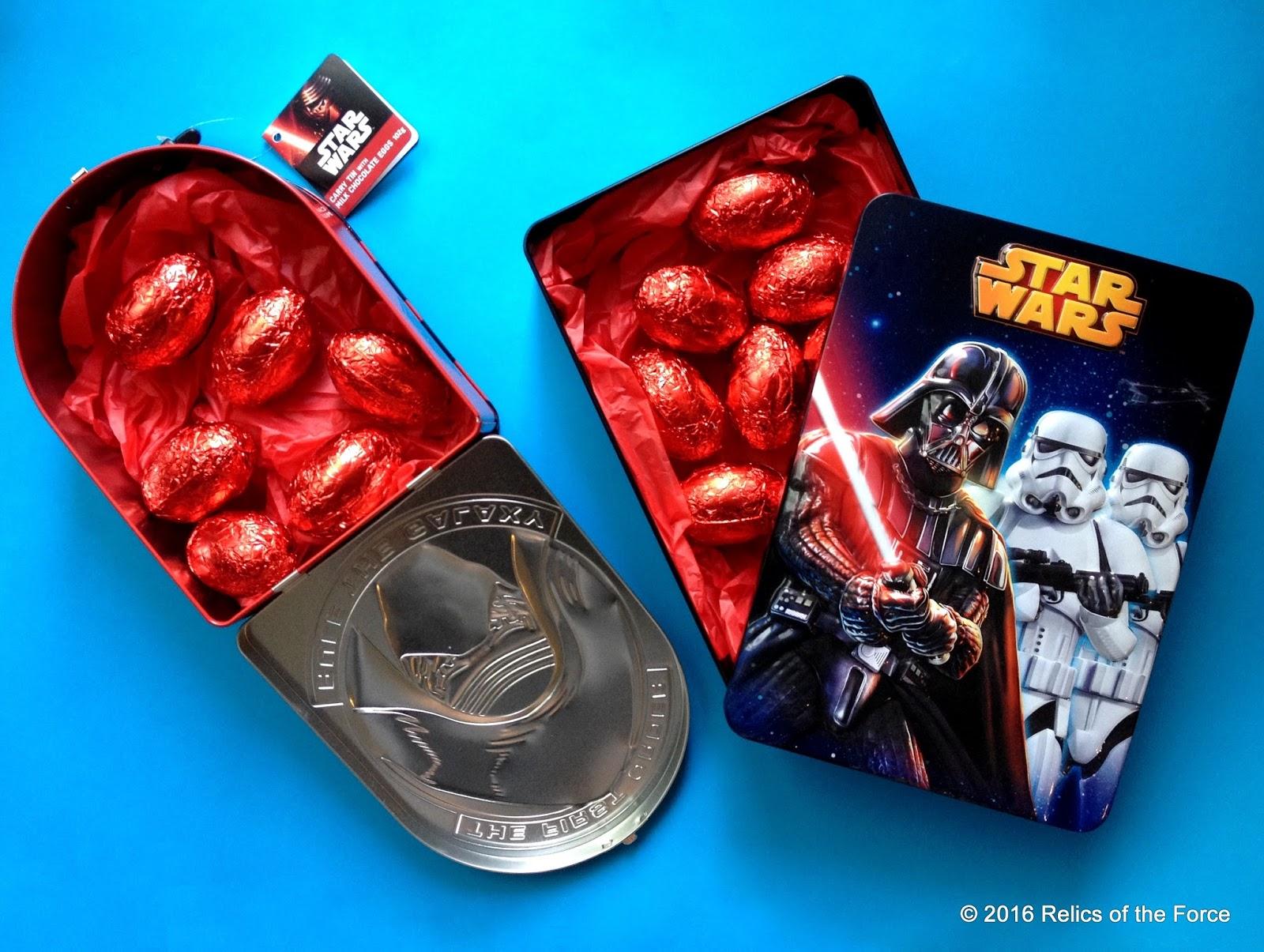 Star Wars Stormtrooper Milk Chocolate Tins