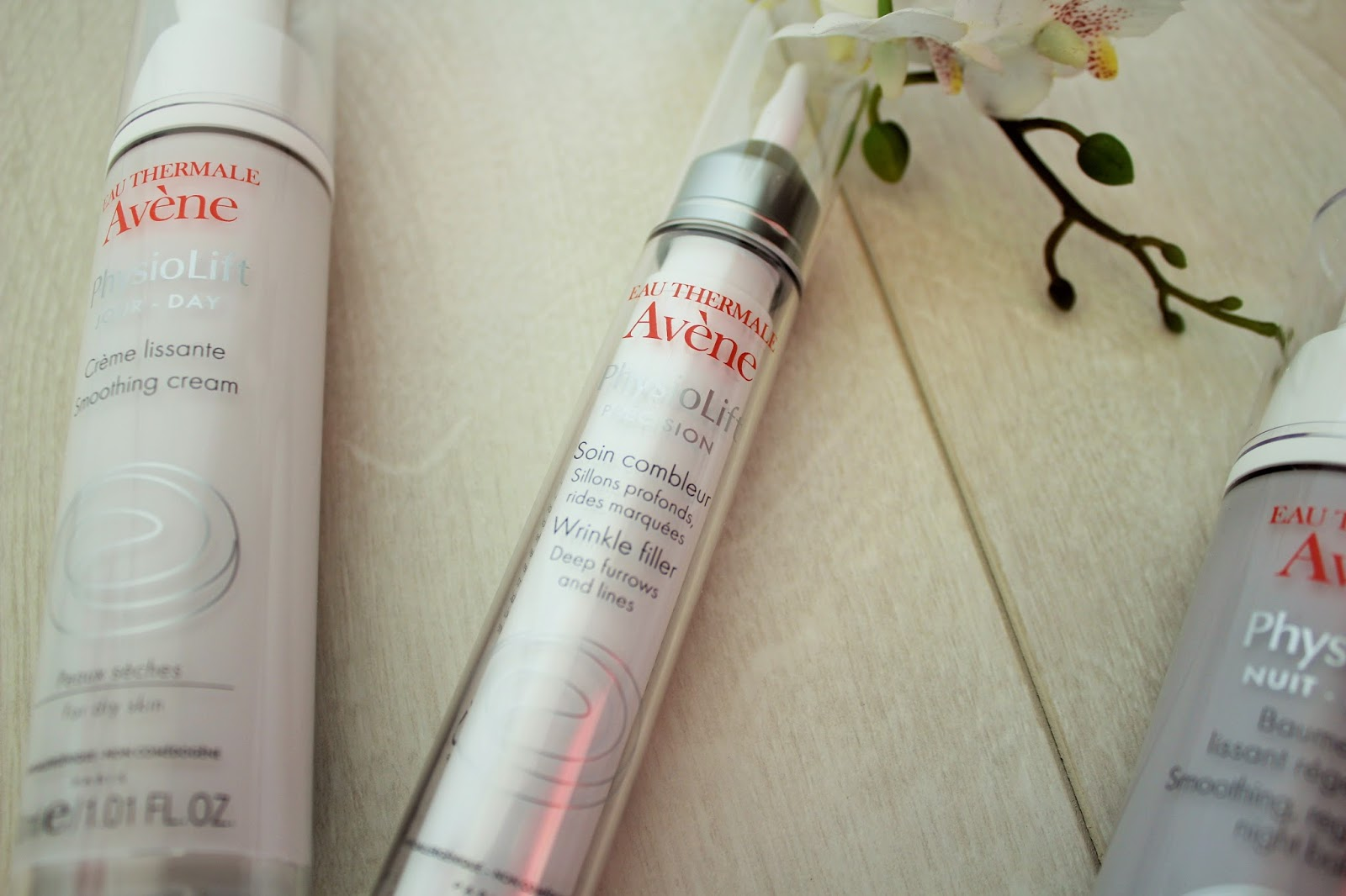 Avene PhysioLift range - Anti-Ageing skincare